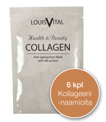 Louis Vital - sixpack Collagen masks